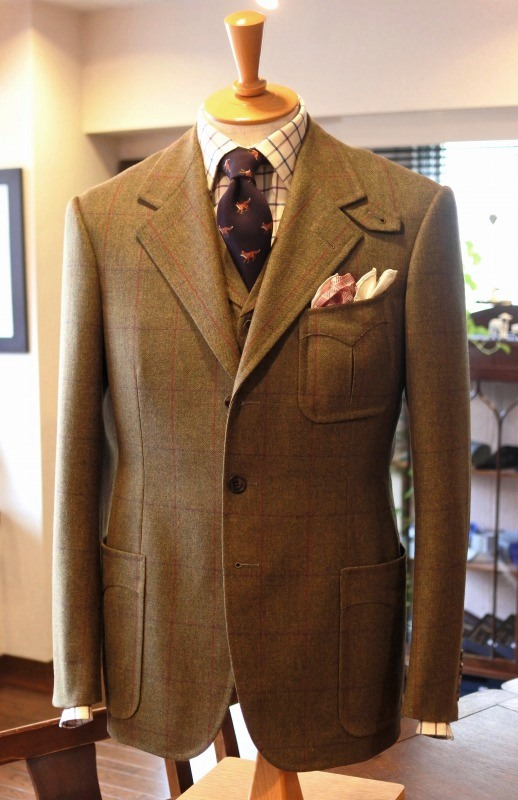 【 TWEED / SUPERFLEECE:4P-SUITS 】